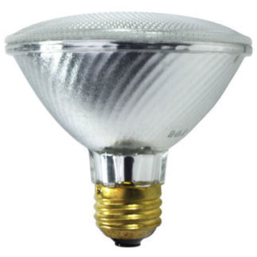 39 Watt - PAR30 - 50 Watt Equivalent - Narrow Flood Halogen - 1,500 Life Hours - 550 Lumens - 120 Volt - Sylvania 16118