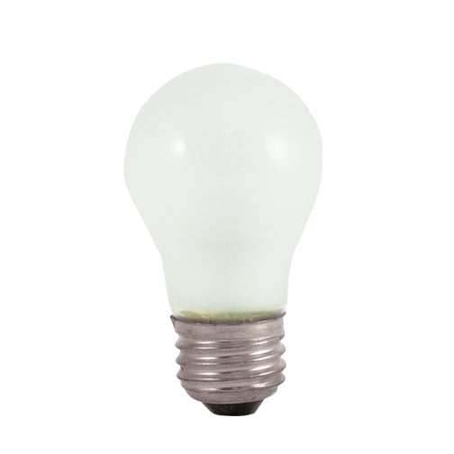 Bulbrite 40A15F 40 Watt Incandescent A15 Fan Bulb, Medium Base, Frost