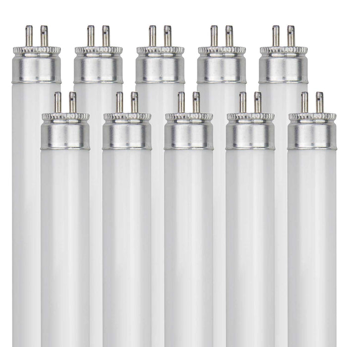 Sunlite 6 Watt T5 Straight Tube, Mini Bi-Pin Base, Cool White