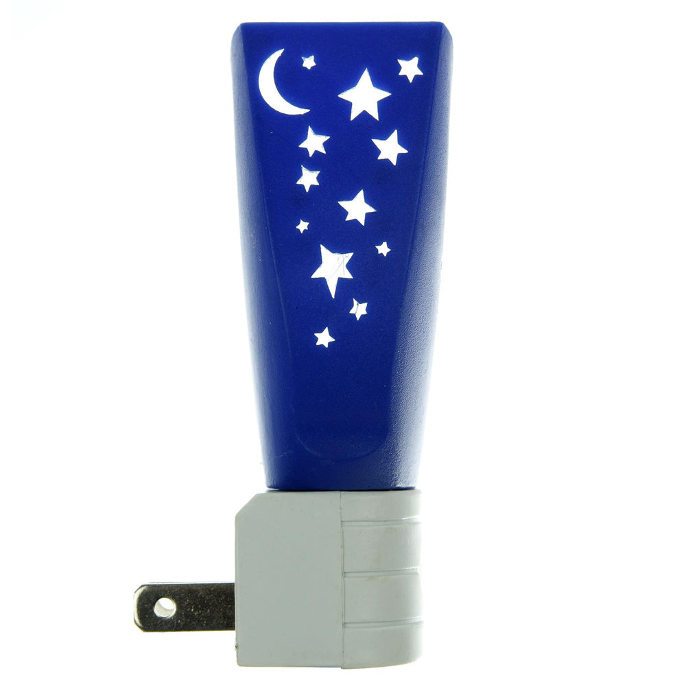 Sunlite E175 Blue Moon and Stars Decorative Night Light with Photo Control