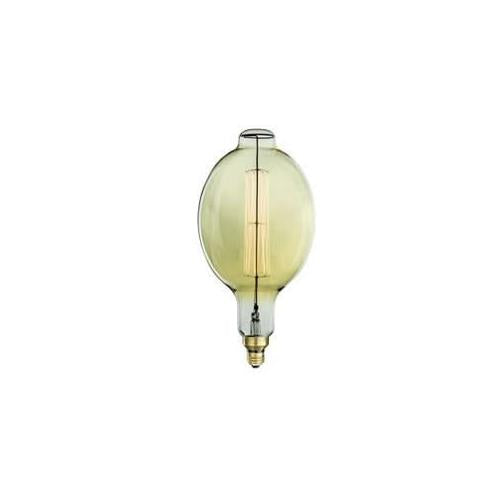 Bulbrite NOS60-BT 60 Watt Incandescent Grand Nostaglic Thread Filament Bulb, Medium (E26) Base, Antique Finish