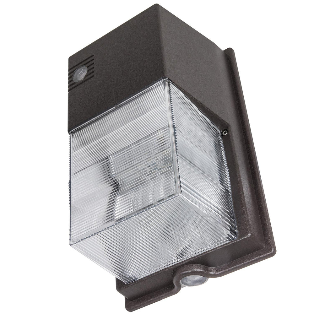 Sunlite 70 Watt High Pressure Sodium Tall Pack Fixture with Photocontrol, Bronze Powder Finish, Clear Polycarbonate Lens