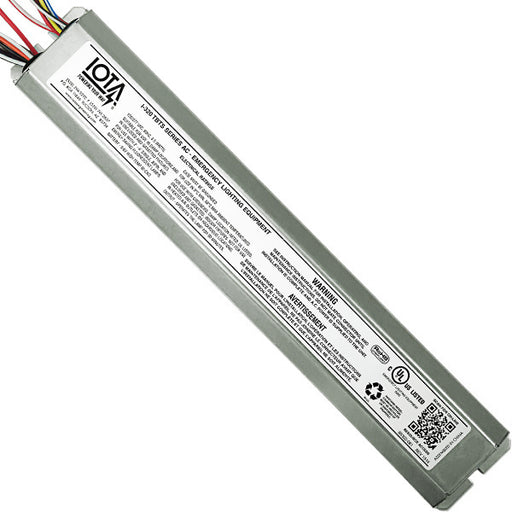 Iota I-320 - Emergency Backup Ballast Reduced Profile - 90 min. - Operates Most 2 ft. to 8 ft. single, Bi-Pin, T8 and T12, HO or VHO and 14 to 54 Watt 2 ft. to 4 ft. T5 lamps - 120/277 Volt