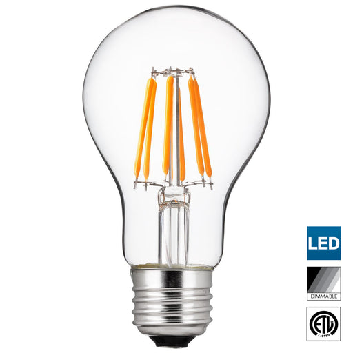 Sunlite Edison Style LED Bulb in 5000K Super White, Dimmable, Medium Base, 15,000 Hour Life, 5 Watt (40 Watt Equivalent), 500 Lumens, Perfect for Achieving Clear and Vibrant Lighting