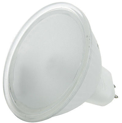 Sunlite 50 Watt, 38° Flood, MR16 Mini Reflector with Cover Guard, GU5.3 Bi-Pin Base, Frost