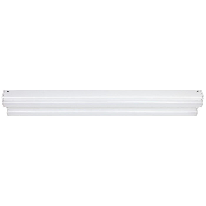 Sunlite 4 Foot two light Economy Channel LED Fixture, Multi-Volt