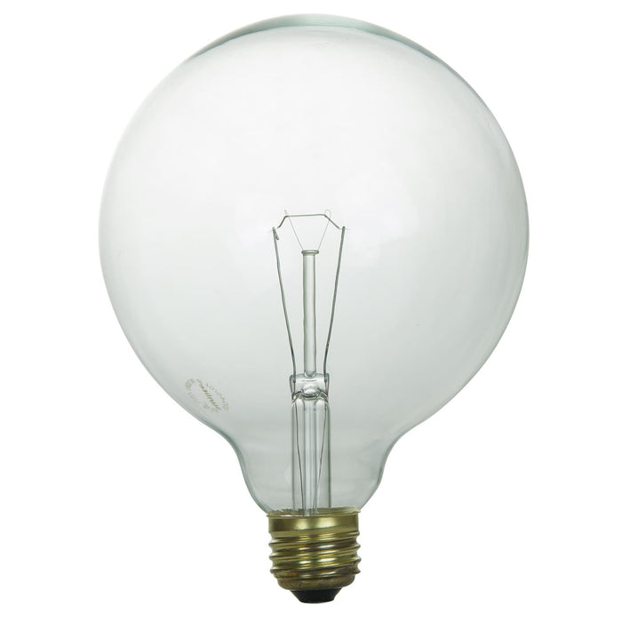 Sunlite 40 Watt G40 Globe, Medium Base, Clear