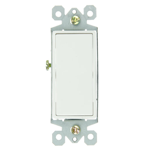 Sunlite E511 3 Way Grounded Rocker Switch, White