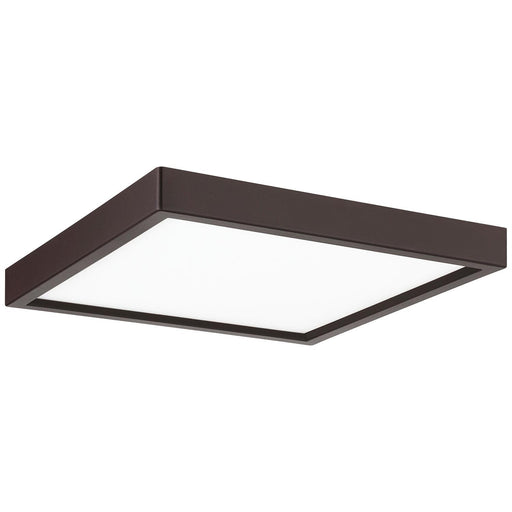 "Sunlite 7"" Square LED Mini Flat Panel Fixture, 15 Watt, 30K/40K/50K - Color Tunable, Oil Rubbed Bronze Finish"