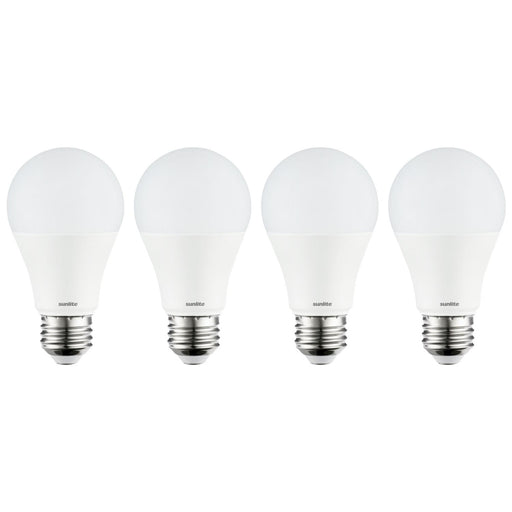 Sunlite A19 LED 14 Watt 6500K Daylight 4-Pack