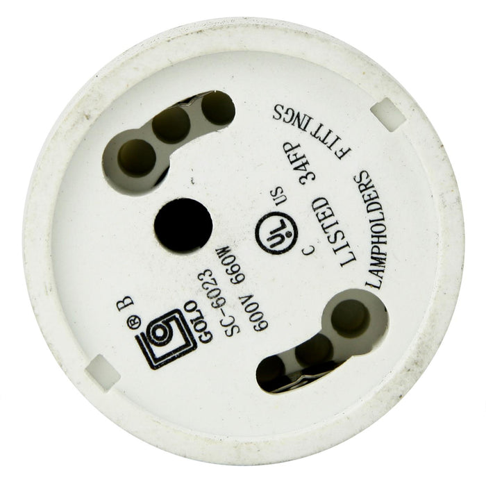 Sunlite E134 Medium (E26) To GU24 Base Adapter