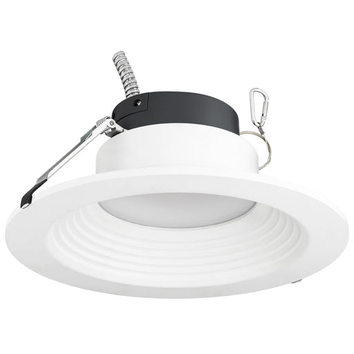 "Sunlite 10"" Round LED Retrofit Fixture, 30K/35K/40K - CCT Tunable, White Finish, 37.5 Watts, Energy Star Cetrified, ETL Listed, Dimmable"