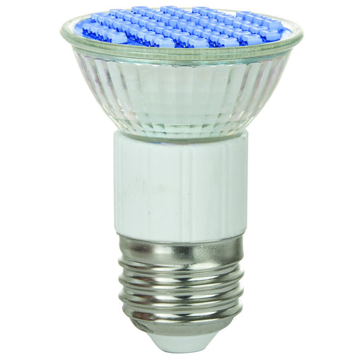 Sunlite LED JDR MR16 2.8W (25W Halogen Equivalent) Bulb Medium (E26) Base, Blue