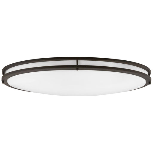 Sunlite 49093-SU LED 32-Inch Oval Flush Mount Ceiling Light Fixture, 30K - Warm White, Dimmable, Energy Star, 2650 Lumens, 35 Watts, Bronze