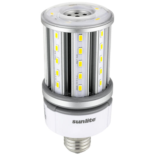 Sunlite CC/LED/15W/E26/MV/50K LED 15W (50W Equivalent) 100-277V Corn Light Bulbs, 360° 5000K Super White Light, Medium (E26) Base