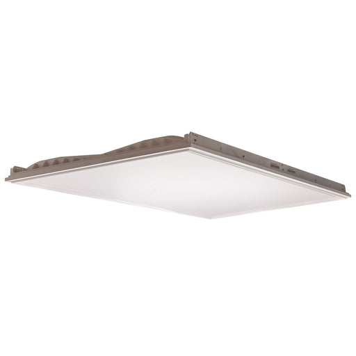 Sunlite LFX/2X4/55W/35K 2x4 55 Watt 100-277 Volt Recessed LED Ceiling Panels Fixture, White Finish