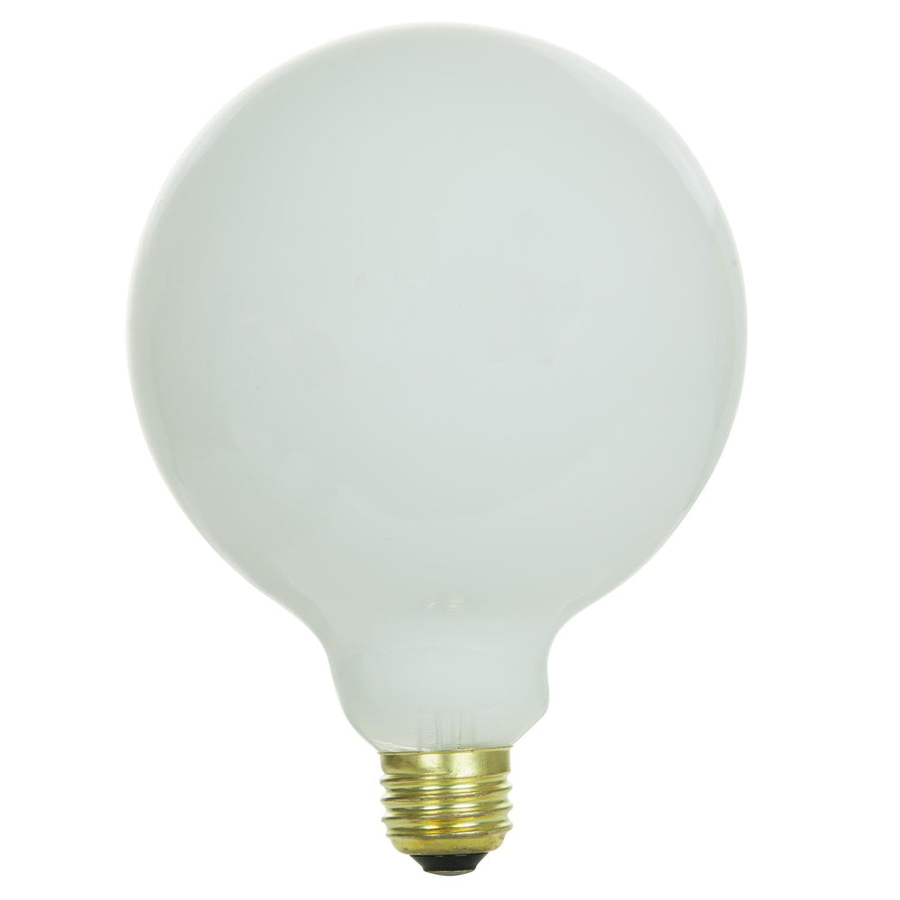 Sunlite 60 Watt G40 Globe, Medium Base, White