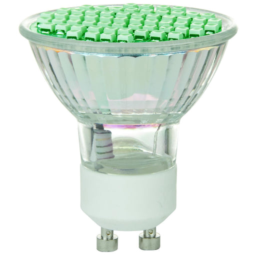 Sunlite LED MR16 Colored 2.8W (20W Halogen Equivalent) Bulb (GU10) Base, Green