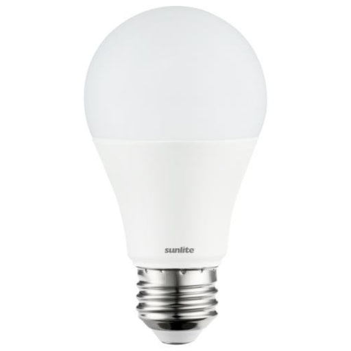 Sunlite LED A19 Light Bulb, 9 Watts (60 Watt Equivalent), 800 Lumens, Medium Base, UL Listed, 30K - Warm White