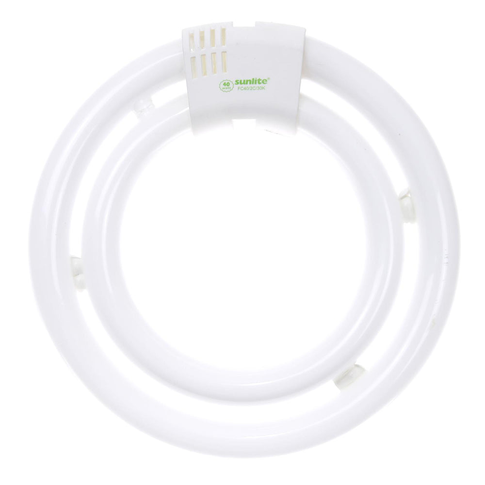 Sunlite 40 Watt T5 Double Circline, GU10Q Base, Cool White