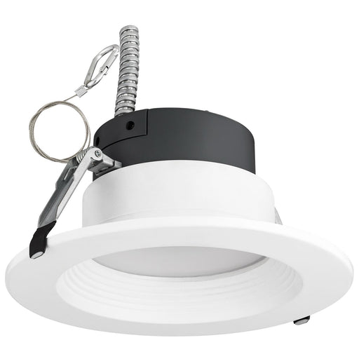 "Sunlite 6"" Round LED Color and Power Tunable Recessed Light Fixture, 9/13/19 Watts, Dimmable, 120/277 Volt, 750/1050/1500 Lumen, 30K/35K/40K Color Temperature, 50,000 Hour Life Span, White Finish, ETL Listed, Energy Star"