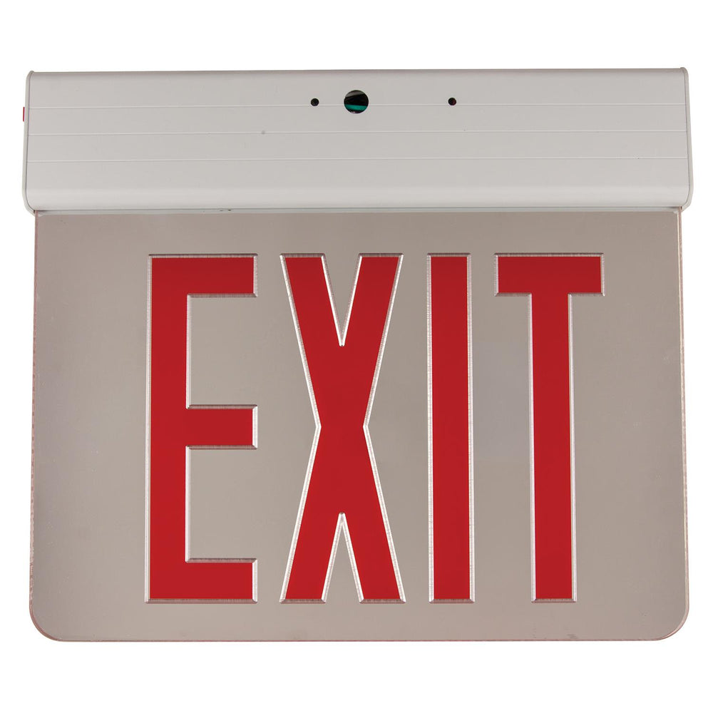 Sunlite EXIT/EDGE/SU/2RF/MI/AL/EM/NYC LED New York Approved Edge Lit Emergency Sign