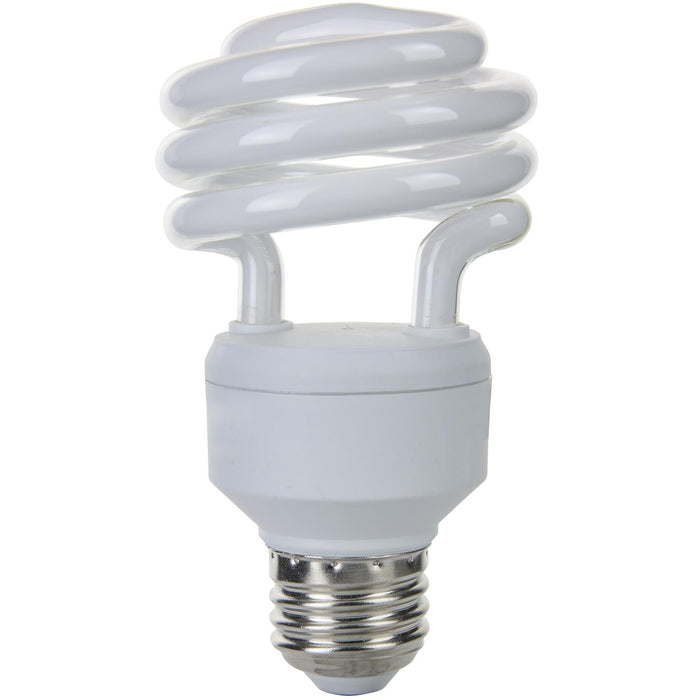 Sunlite 18 Watt Super Mini Spiral, Medium Base, Warm White