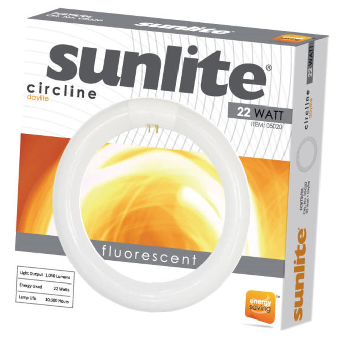 Sunlite 22 Watt T9 Circline, 4-Pin Base, Daylight