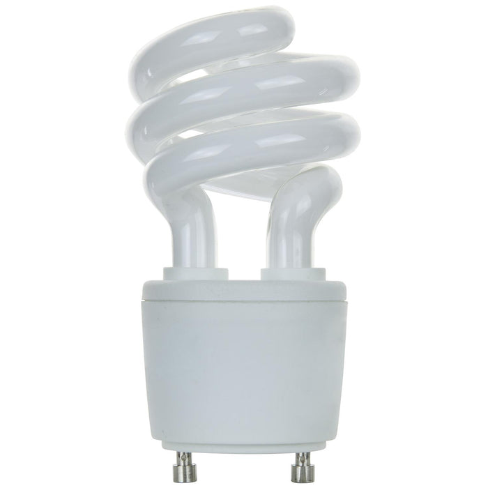 Sunlite 13 Watt GU24 Sprial, GU24 Base, Super White