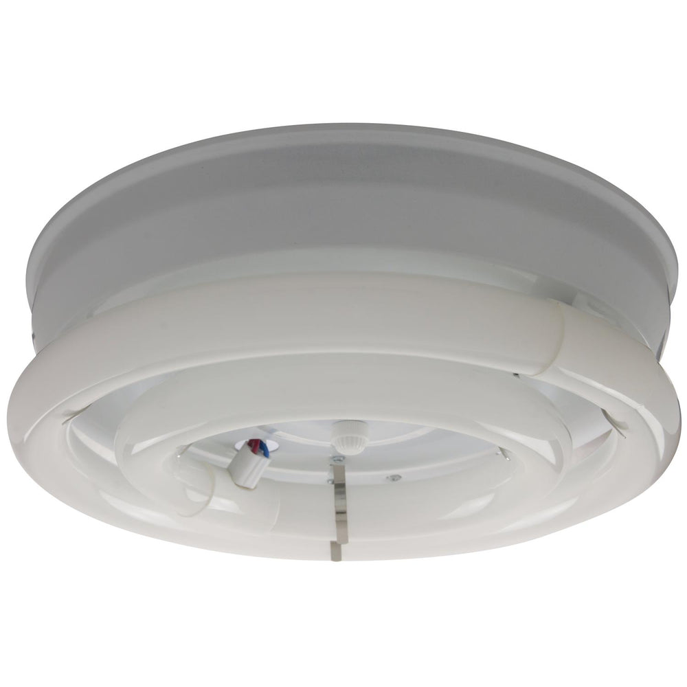 "Sunlite Circline fixture, 12"" Diameter, White Finish"