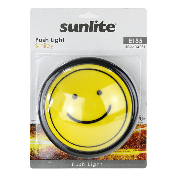 Sunlite E185 Smiley Push Light