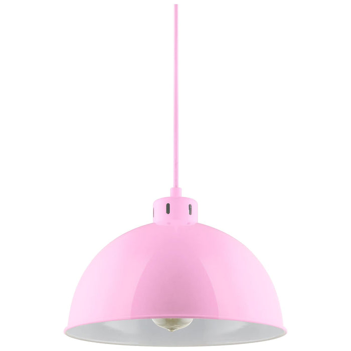 Sunlite CF/PD/S/P Pink Sona Residential Ceiling Pendant Light Fixtures With Medium (E26) Base