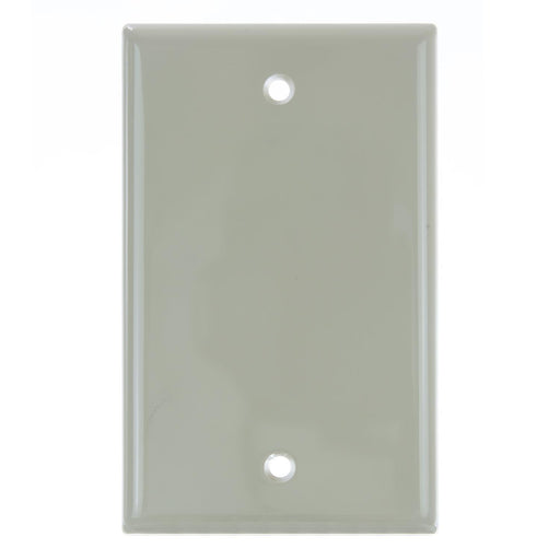 Sunlite E401/I 1 Gang Blank Switch and Receptacle Plate, Ivory