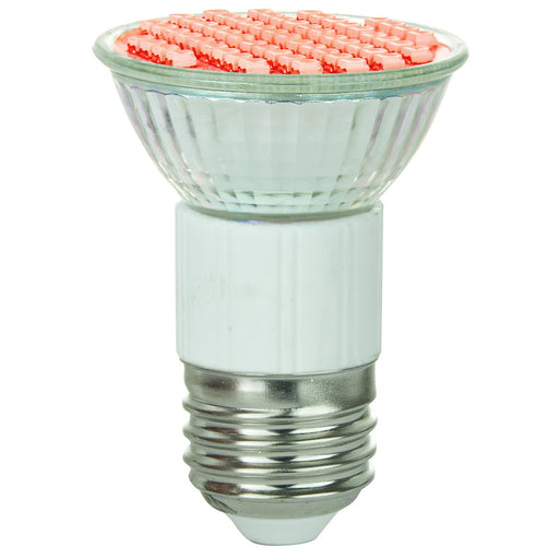 Sunlite LED MR16 Colored 2.8W (25W Equivalent) Light Bulb Medium (E26) Base, Red