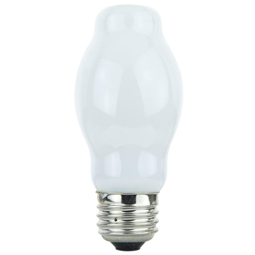 Sunlite 100BT15/WH 100 Watt BT15 Lamp Medium (E26) Base, Halogen