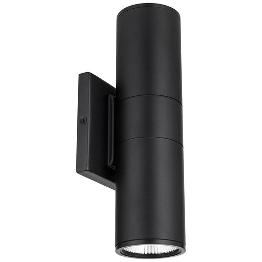 Sunlite 88133-SU LED Up and Down Outdoor Wall Light Fixture, 20 Watts, 1400 Lumens, 50,000 Hour Life Span, Black Finish, ETL Listed, Energy Star Certified, 30K - Warm White