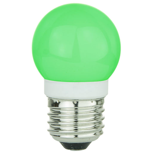 Sunlite G13 Globe, Medium Base Light Bulb, Green