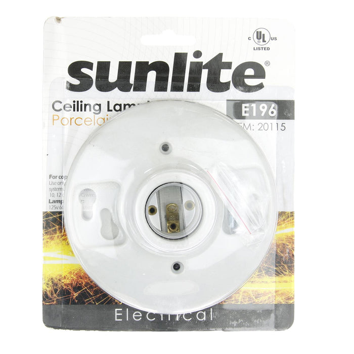 Sunlite E196/CD PORCELAIN LAMP HOLDER