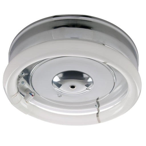 "Sunlite 12"" Fluorescent Circline Fixture, Chrome Finish"