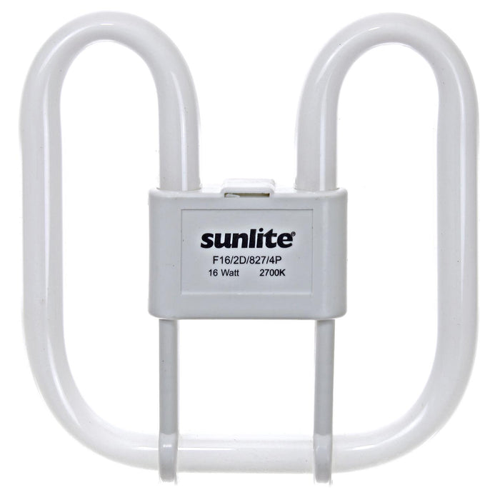 Sunlite 16 Watt 2D Lamp, GR10Q Base, Warm White