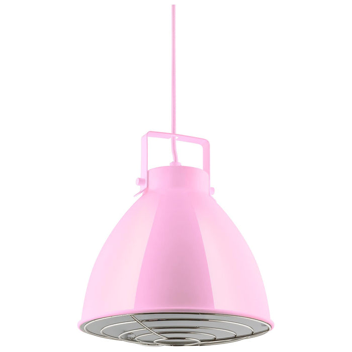Sunlite CF/PD/Z/P Pink Zed Residential Ceiling Pendant Light Fixtures With Medium (E26) Base