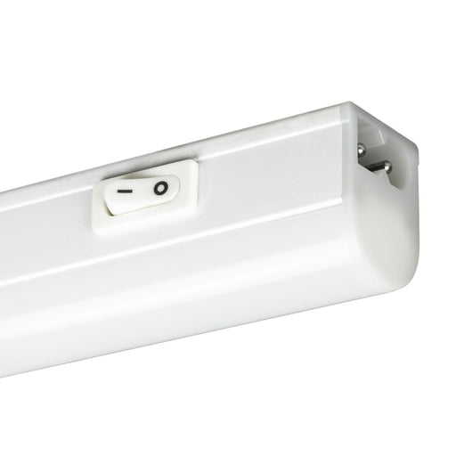 "Sunlite 12"" 4 Watt 120 Volt LED Linkable Under Cabinet Fixture, White Finish, With Plug"