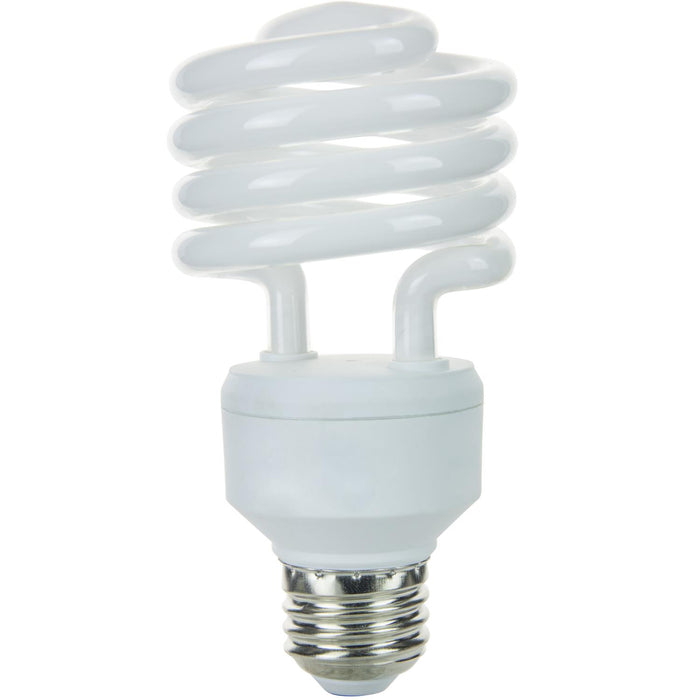Sunlite 23 Watt Super Mini Spiral, Medium Base, Super White