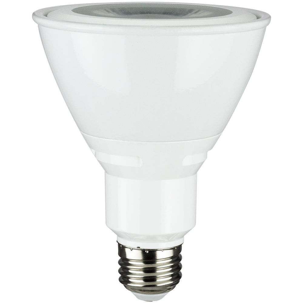 Sunlite LED PAR30 Long Neck Reflector 90cri Series 10W (75W Equivalent) Light Bulb Medium (E26) Base, Warm White