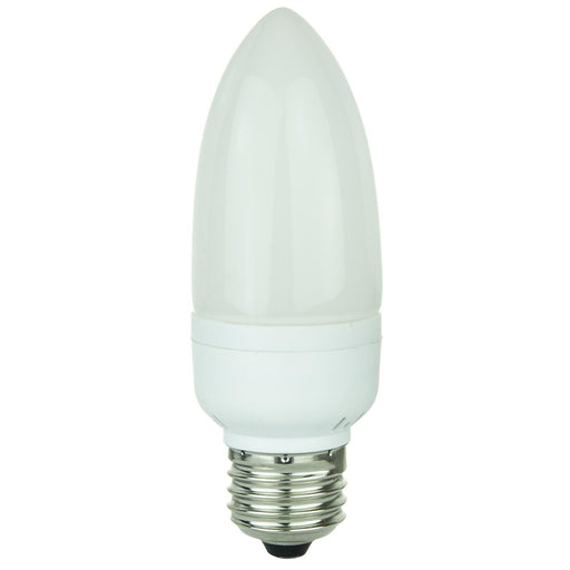 Torpedo Tip Chandelier, 72 Lumens, Medium Base, White