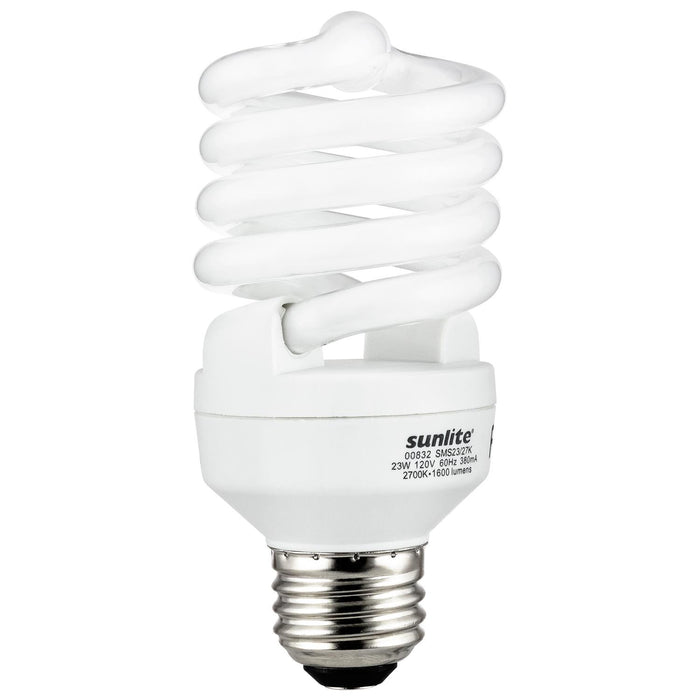 Sunlite 23 Watt CFL Lamp Medium (E26) Base Warm White
