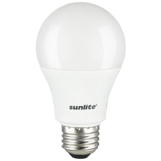 3 Pack Sunlite A19 LED Bulbs, 14 Watt (100 Watt Equivalent), 1500 Lumens, Medium (E26) Base, 6500K Daylight, UL Listed
