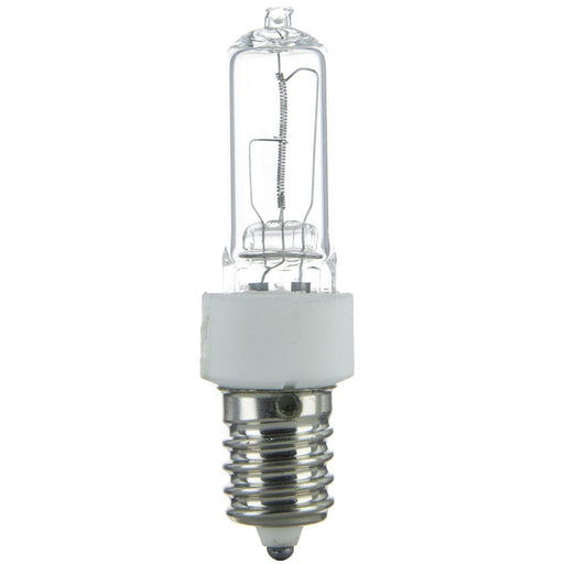 Sunlite 75 Watt, Single Ended T4, European Base, Clear
