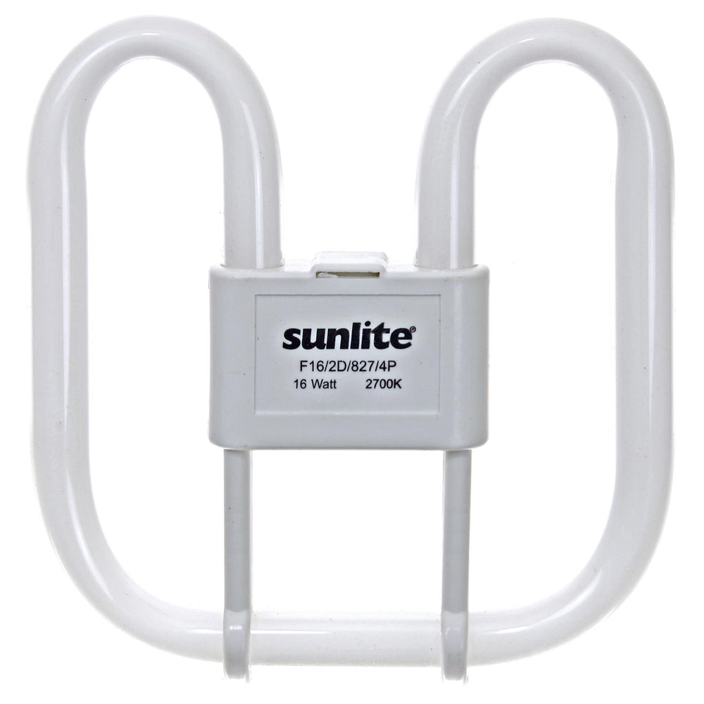 Sunlite 16 Watt 2D Lamp, GR10Q Base, Neutral White