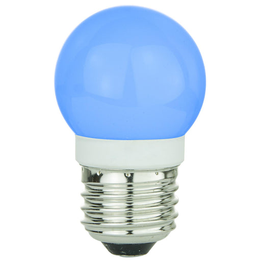 Sunlite G13 Globe, Medium Base Light Bulb, Blue